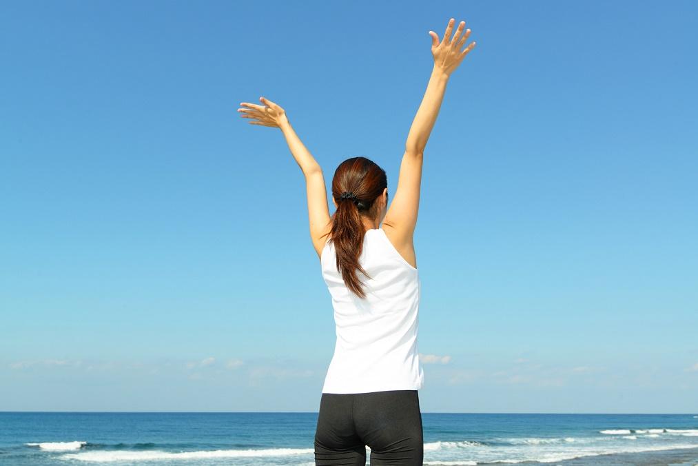 二の腕が痩せる、腕立て伏せの方法